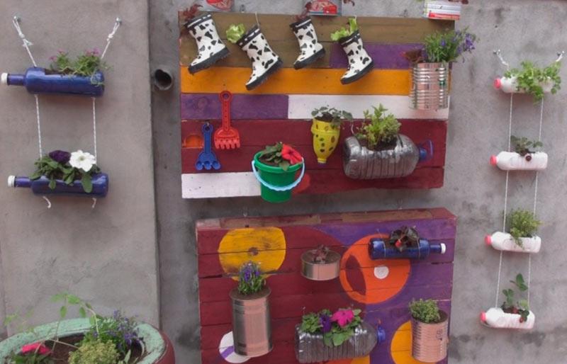 Decorar Jardin Con Materiales Reciclados. Best Decorar Jardn With ...